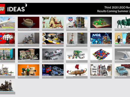 LEGO Ideas Third Stage 2020 Review: Results Coming Tomorrow
