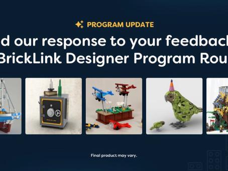 Bricklink Designer Program 2021: Second Chance to Order
