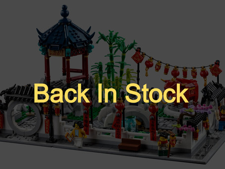 LEGO Chinese New Year Spring Lantern Festival: Back In Stock