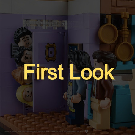 LEGO Friends Sitcom The Apartments Set: First Look