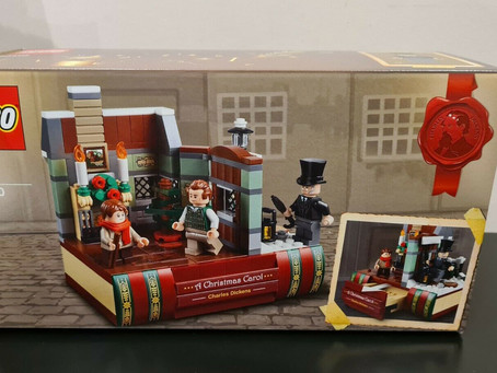 LEGO Charles Dickens Tribute Gift With Purchase Info