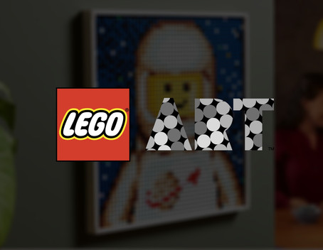 LEGO Art Create Together: 37 Designs Including Classic Spaceman