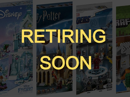 LEGO Sets Retiring in 2021: Summer 2021