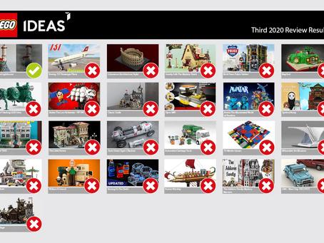 LEGO Ideas Third Stage 2020 Review: Results