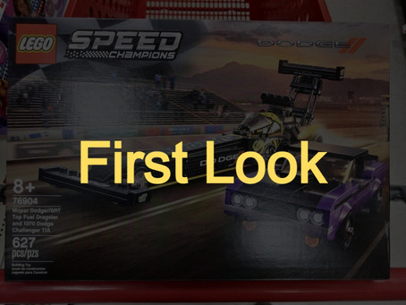 LEGO Speed Champions Mopar Dodge/SRT Dragster and 1970s Dodge Challenger: First Look