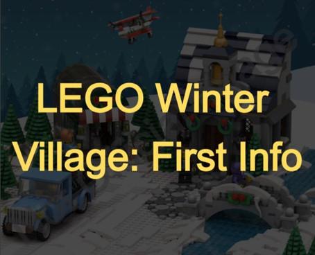 LEGO Winter Village: First Info