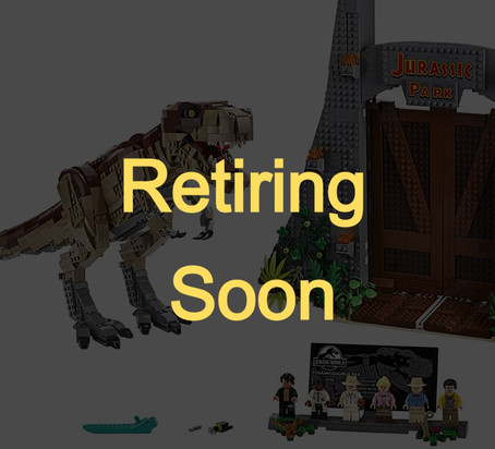 LEGO Sets Retiring in 2021: Jurassic World™