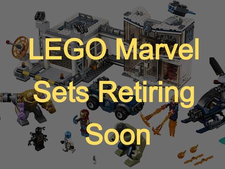 LEGO Marvel Sets Retiring Soon