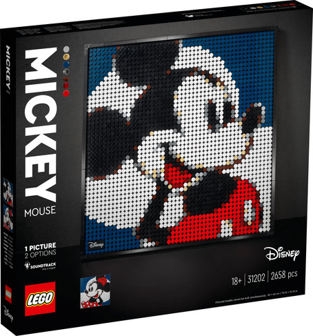 LEGO® Art Disney's Mickey Mouse Officially Announced