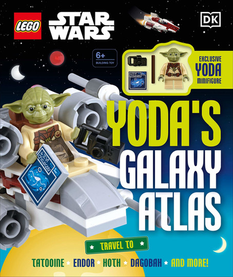 LEGO Yoda's Galaxy Atlas from DK Publishing