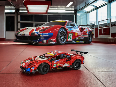 "LEGO® TECHNIC™ FERRARI 488 GTE ""AF CORSE #51"" Official Announcement"