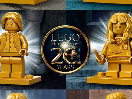 LEGO Harry Potter 20th Anniversary Collectible Golden Minifigures: First Look