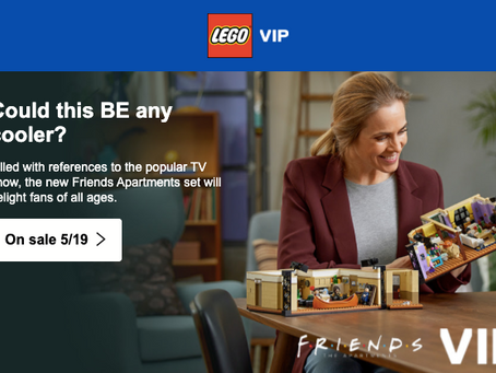 LEGO Friends The Apartments: VIP Presale on Shop@Home