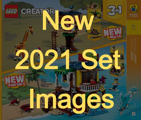 LEGO 2021 Catalog Showcases Upcoming Set Images