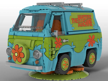 LEGO Ideas: SCOOBY DOO MYSTERY MACHINE Achieves 10k Supporters