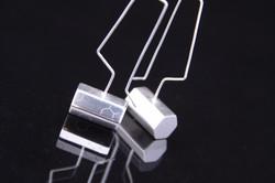 Hex-Barrel Earrings