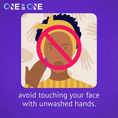 Protect Yourself   Don't Touch Your Face