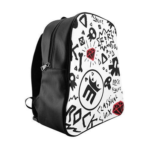 MightyMood - Rock Backpack B&W