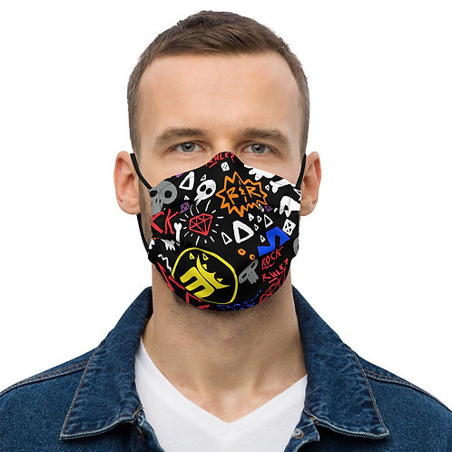 MightyMood - Safe mask black Rock