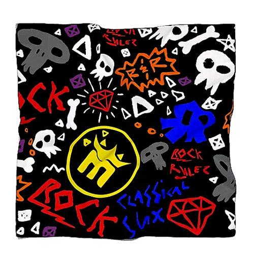 MightyMood - Black rock Scarf