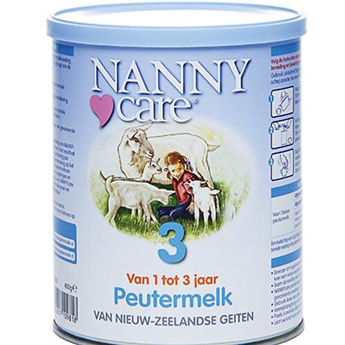 NANNYcare Peutermelk 400 gram op basis van geitenmelk, geschikt vanaf 1 jaar