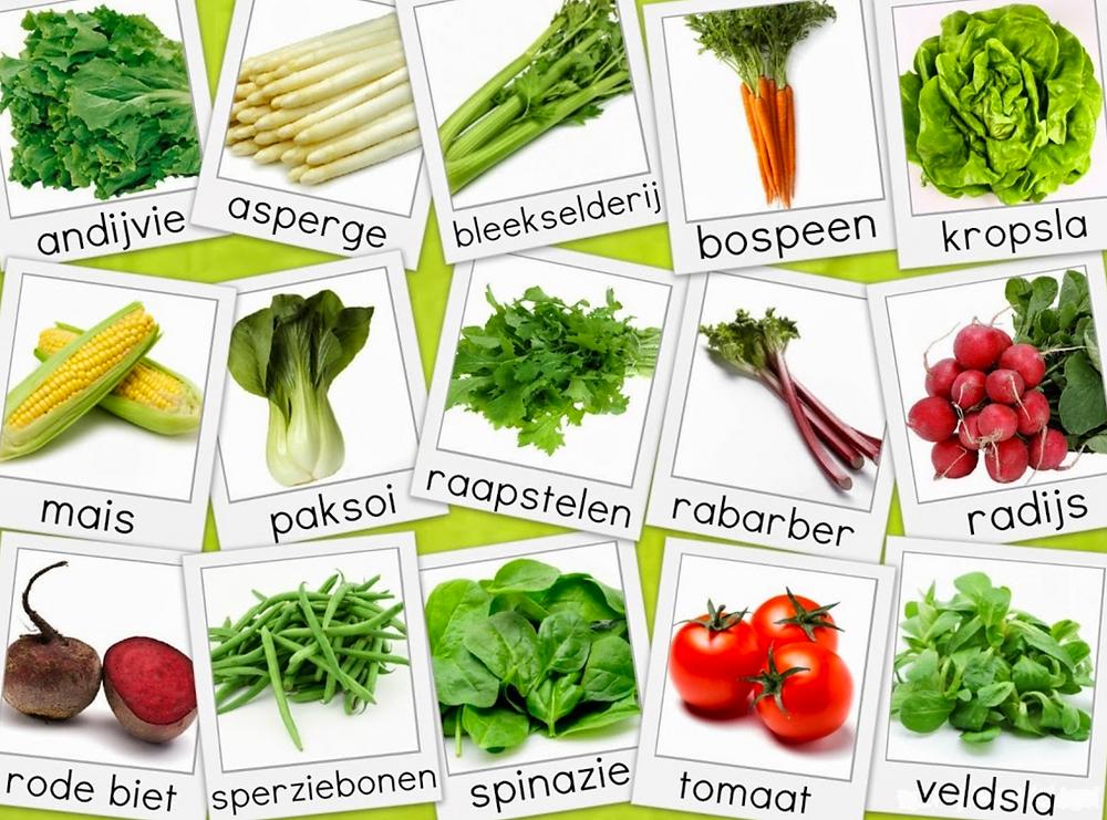 Seizoensgebonden groenten