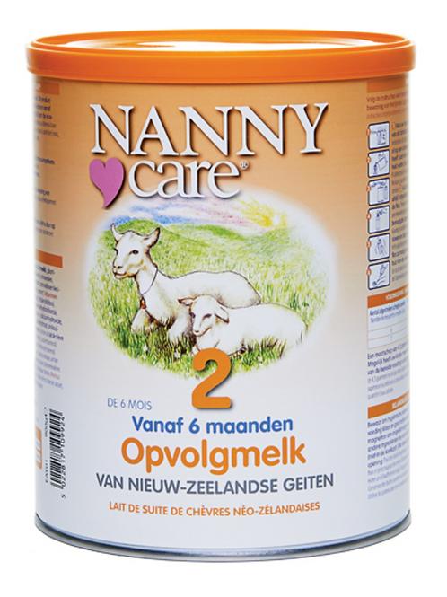 NANNYcare Opvolgmelk 900 gram op basis van geitenmelk, geschikt vanaf 6 maanden