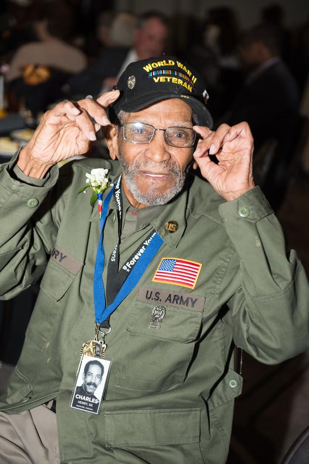 World War II Veteran      Charles Henry