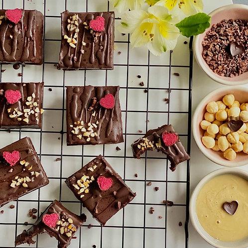 Organic Chocolate & Tahini Brownies