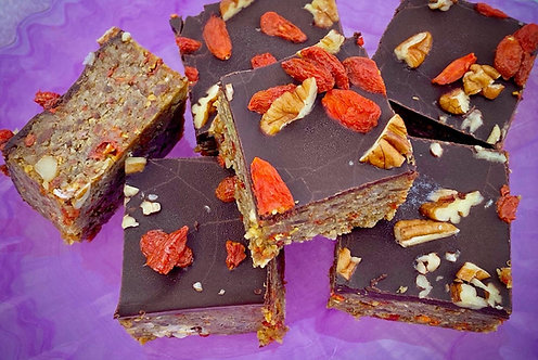Walnut & Goji Bars...inspired by Adam