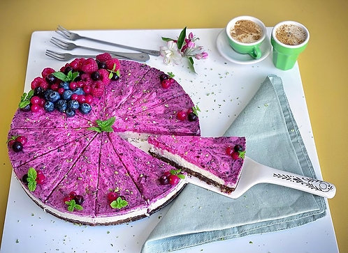 Summer Fruit 'Cheesecake'