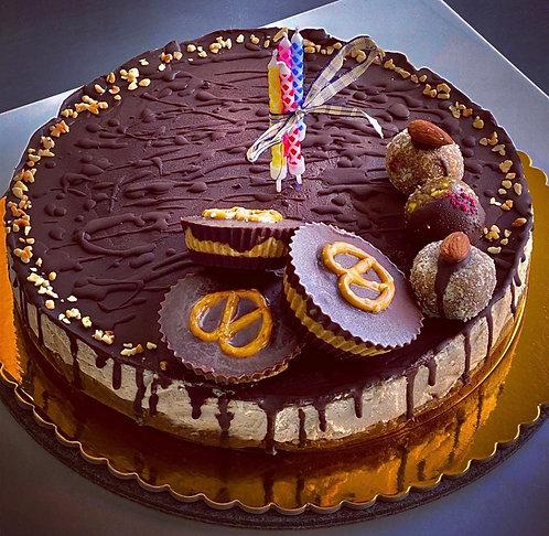 Chocolate & Almond cake
