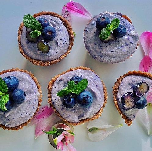 Blueberry & Vanilla cupcakes