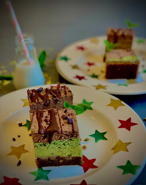 Choc 'n' Mint Slices