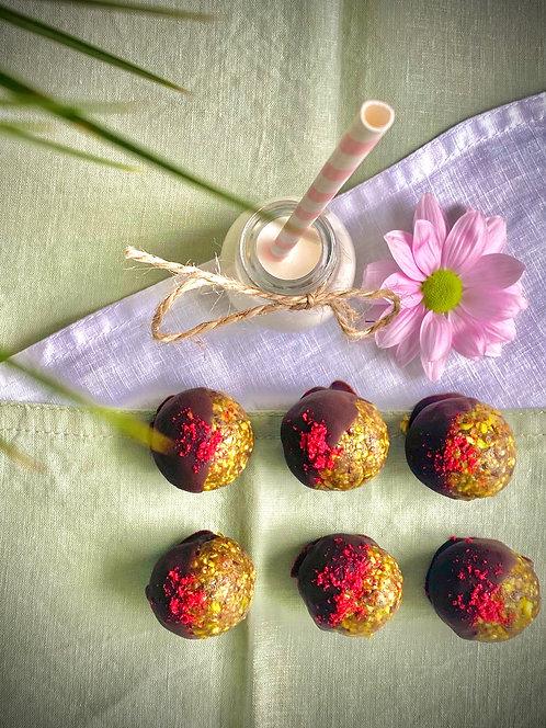 Pistachio Chocolate Bites