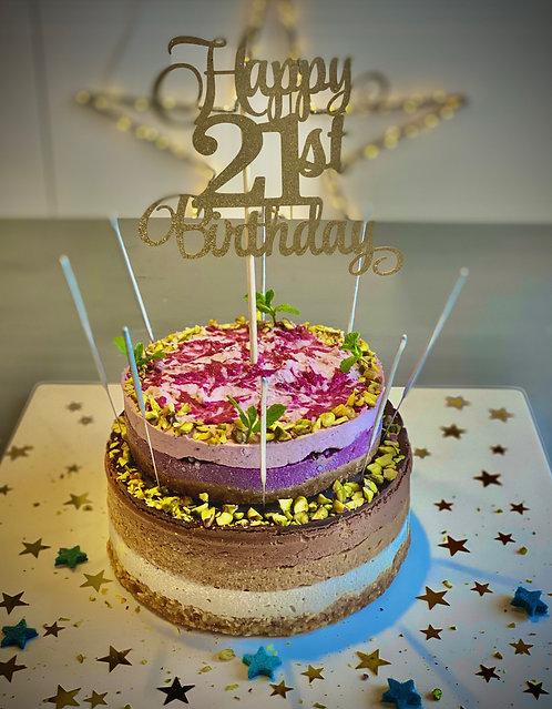 Chocolate 'double decker' cake