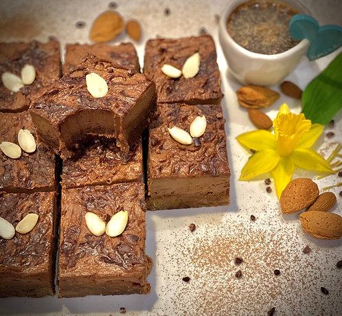 Organic Double Chocolate Fudge Squares