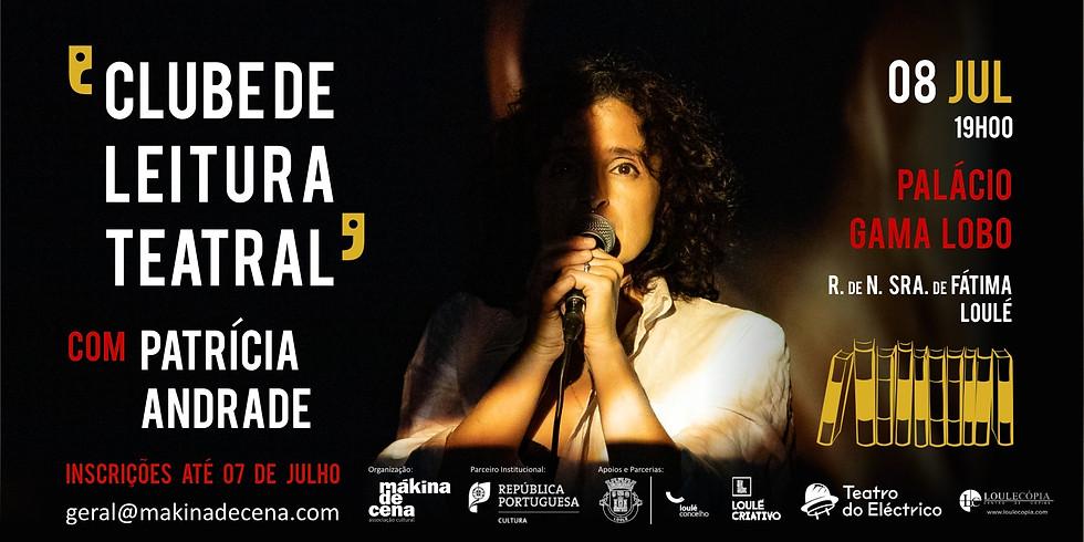 Clube de Leitura Teatral com Patrícia Andrade