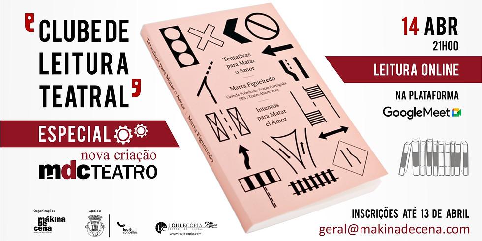 Clube de Leitura Teatral   Especial Nova Criação MdC Teatro