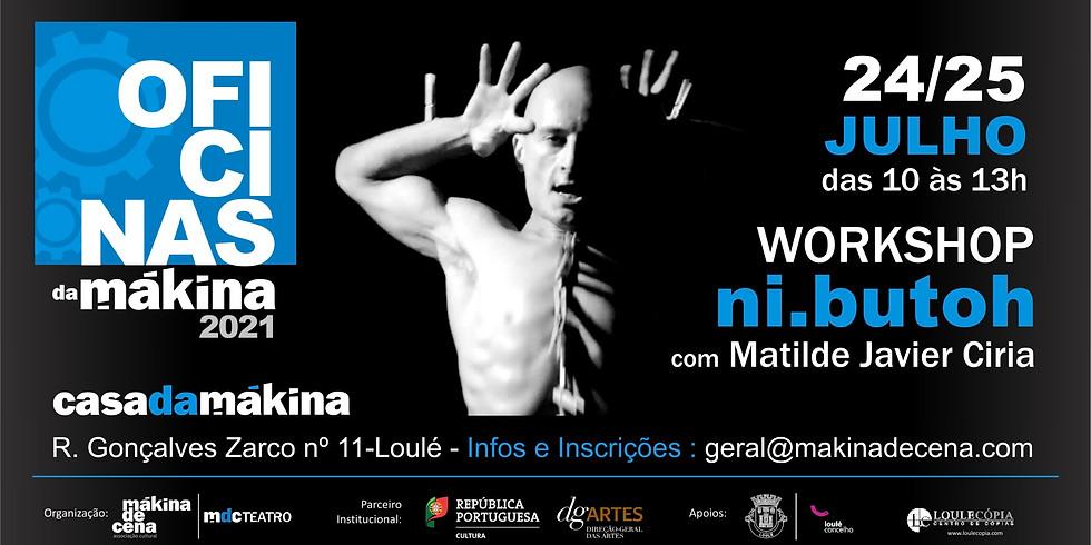 Workshop ni.butoh por Matilde Javier Ciria