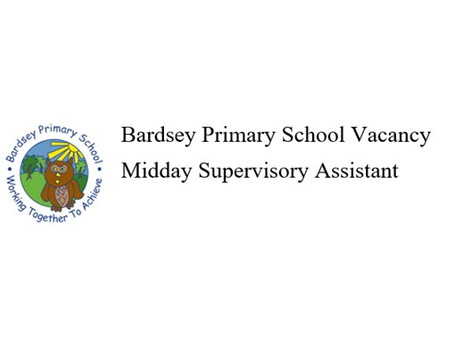 Midday Supervisory Assistant Vacancy