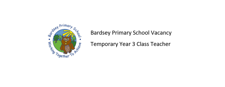 Temporary Year 3 Class Teacher
