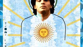 """El """"AD10S"""" de un mortal cuyo fútbol es inmortal. La Iglesia Maradoniana se quedó sin dios."""