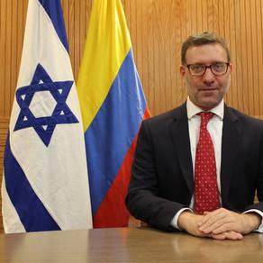 Entrevista con el Embajador de Israel en Colombia Christian Cantor