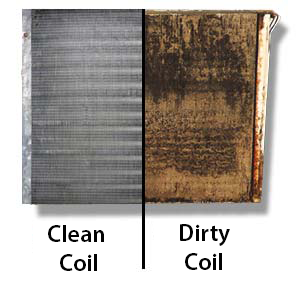 Evaporator Coil Cleaning