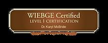 WIEBGE_Level I Badge.png