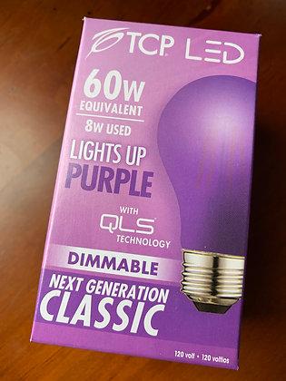 Purple Light Bulb
