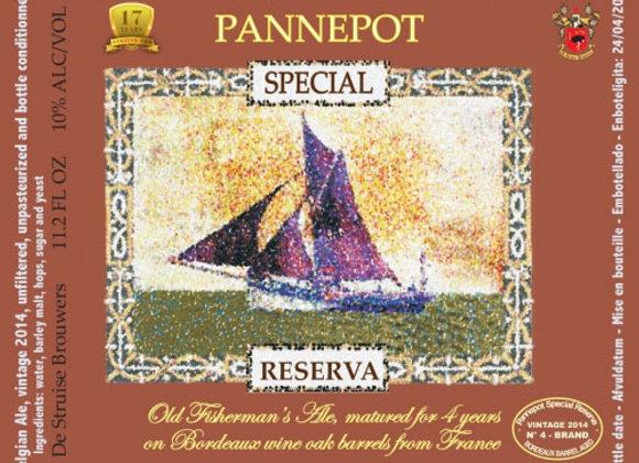 De Struise Pannepot Special Reserva 2014 (Belgian Strong Dark Ale - 11.2 oz)(MD)