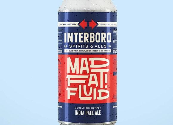Interboro Mad Fat Fluid (Hazy IPA - 4 Pack x 16 oz.)