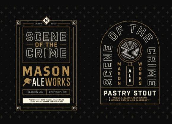 Mason Scene Of The Crime (Imperial Stout - Single x 16 oz.)